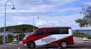 Tax Return Specialists van at coffs harbour jetty